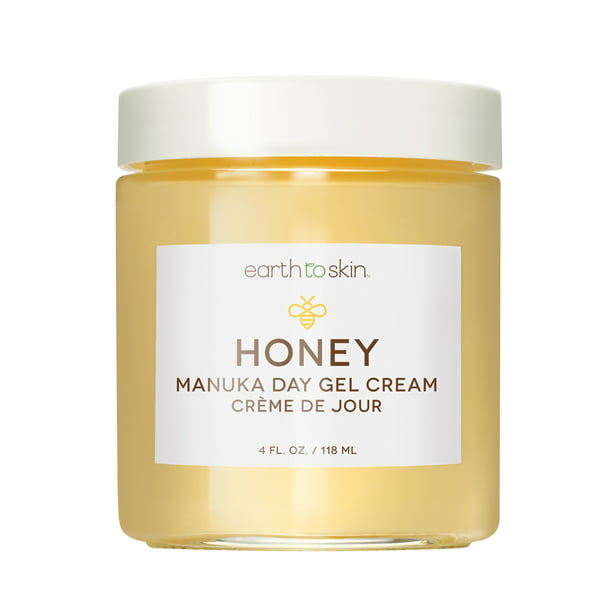 Earth to Skin Honey Manuka Calming Day Gel Cream, 4 oz