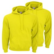 Gildan Adult Preshrunk Hooded Sweatshirt, Pack of 2