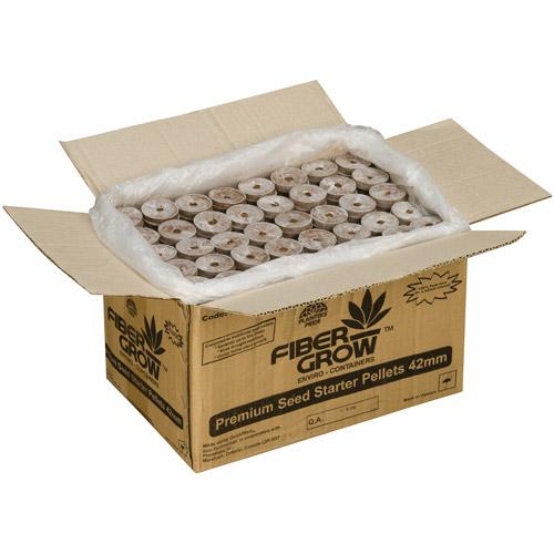 Planters' Pride Fiber Grow Premium Seed Starter Pellet, 1,000 Count by Garden Planters
