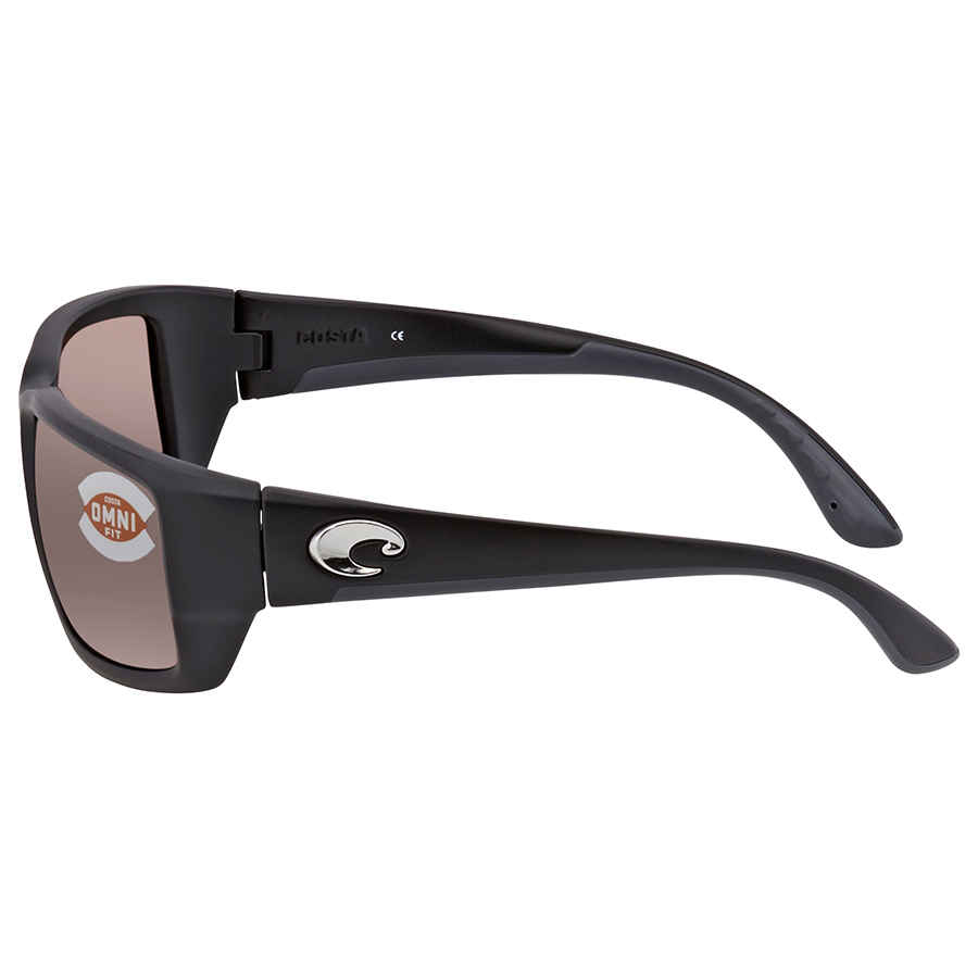 NEW Costa Fantail Global Fit Sunglasses Black Grey 580G TF 11GF Glass AUTHENTIC
