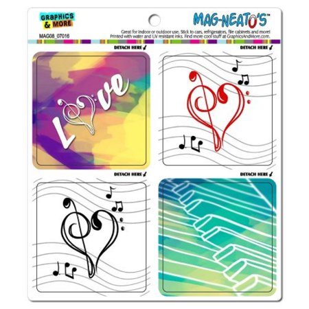 Graphics and More Music Love Mag-Neato