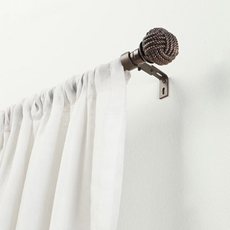 Better Homes And Gardens Nautical Knot Curtain Rod Set
