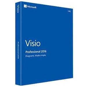 Visio Pro 2016 Win Medialess