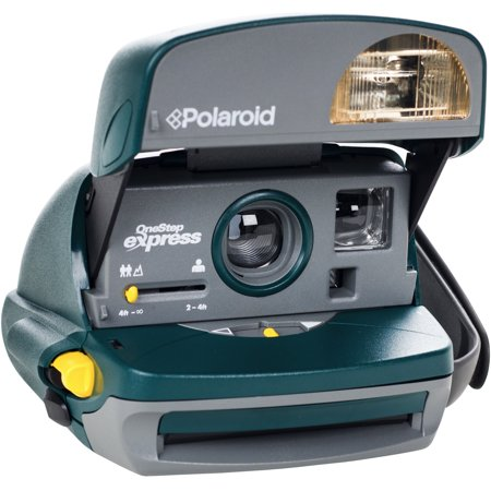 Polaroid 600 Round Instant Film Camera (Green) - Refurbished by ...