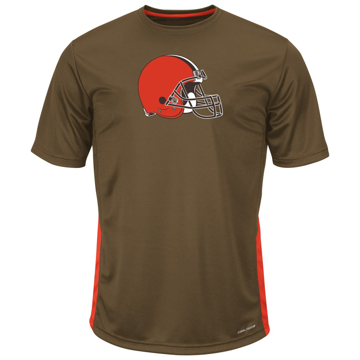 "Cleveland Browns Majestic NFL ""To The Limits"" Men's Cool Base T-Shirt by Majestic"