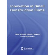 Innovation in Small Construction Firms - eBook