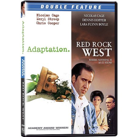 Nicolas Cage Double Feature  Adaptation   Red Rock West  Widescreen