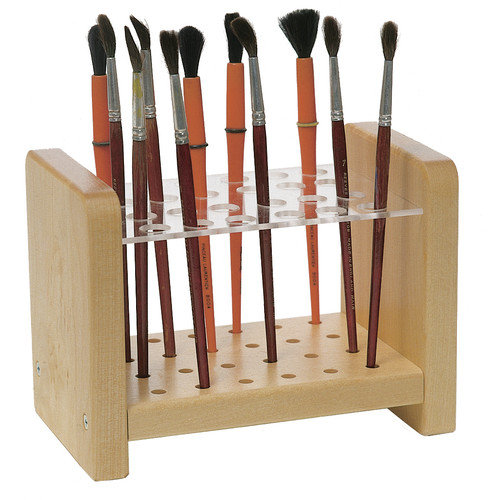 Steffy Wood Products Brush Holder
