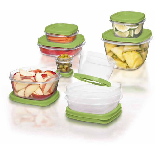 Rubbermaid 24-Piece Easy Find Lid Container Set with 6 Bonus Pieces