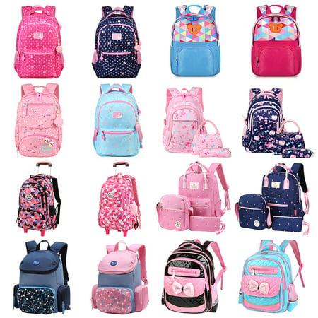 Kids Bakpack-Fitbest Kids Pre-School Backpack Girls Boys Kindergarten School Bag Toddler Shouler Bags - Backpack With Lunchbox