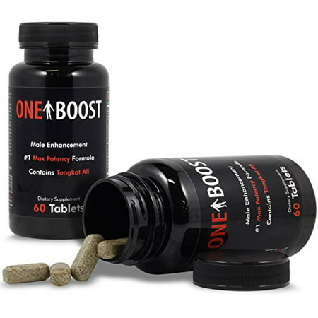 One Boost Testosterone Booster For Men & Women - Libido, Energy & Overall Well-Being, 60