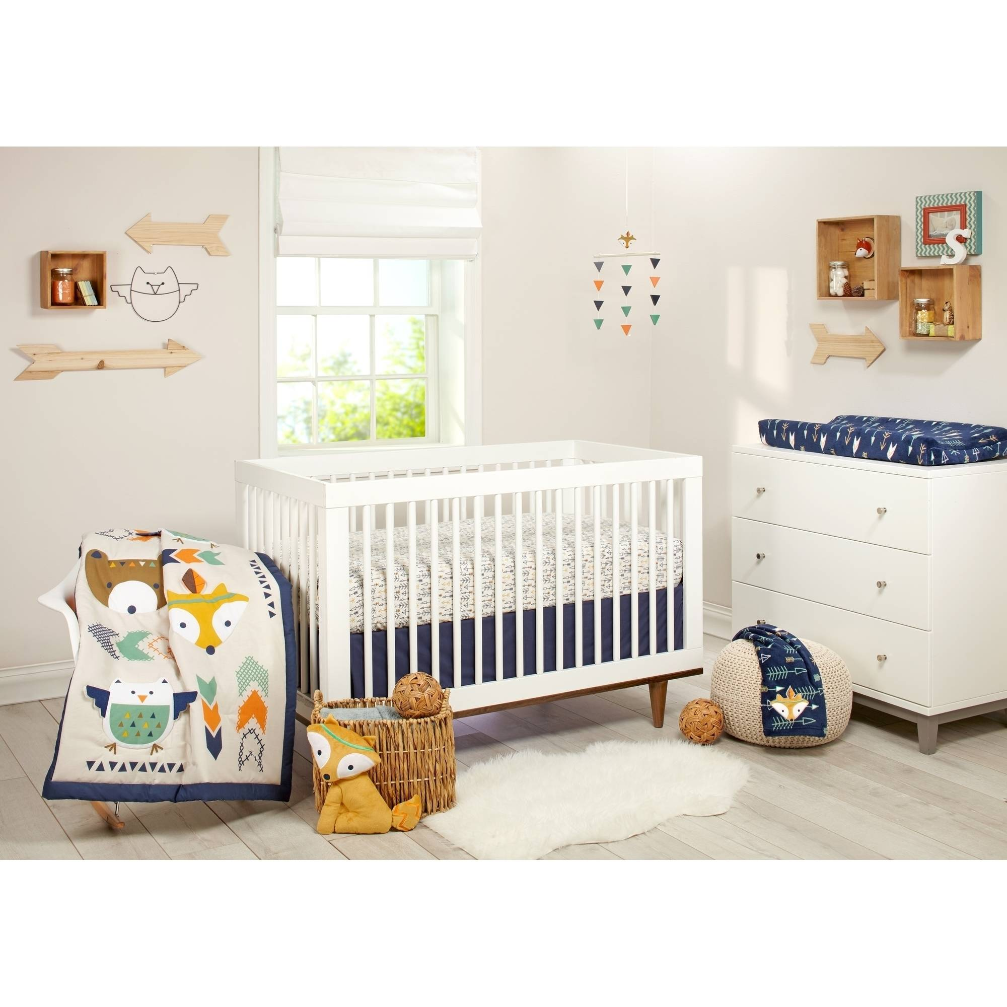 Little Love Aztec 5pc Crib Set