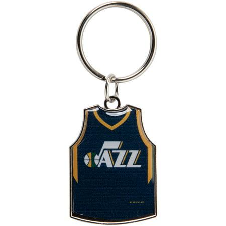 Utah Jazz Reversible Home/Away Jersey Keychain - No Size ()