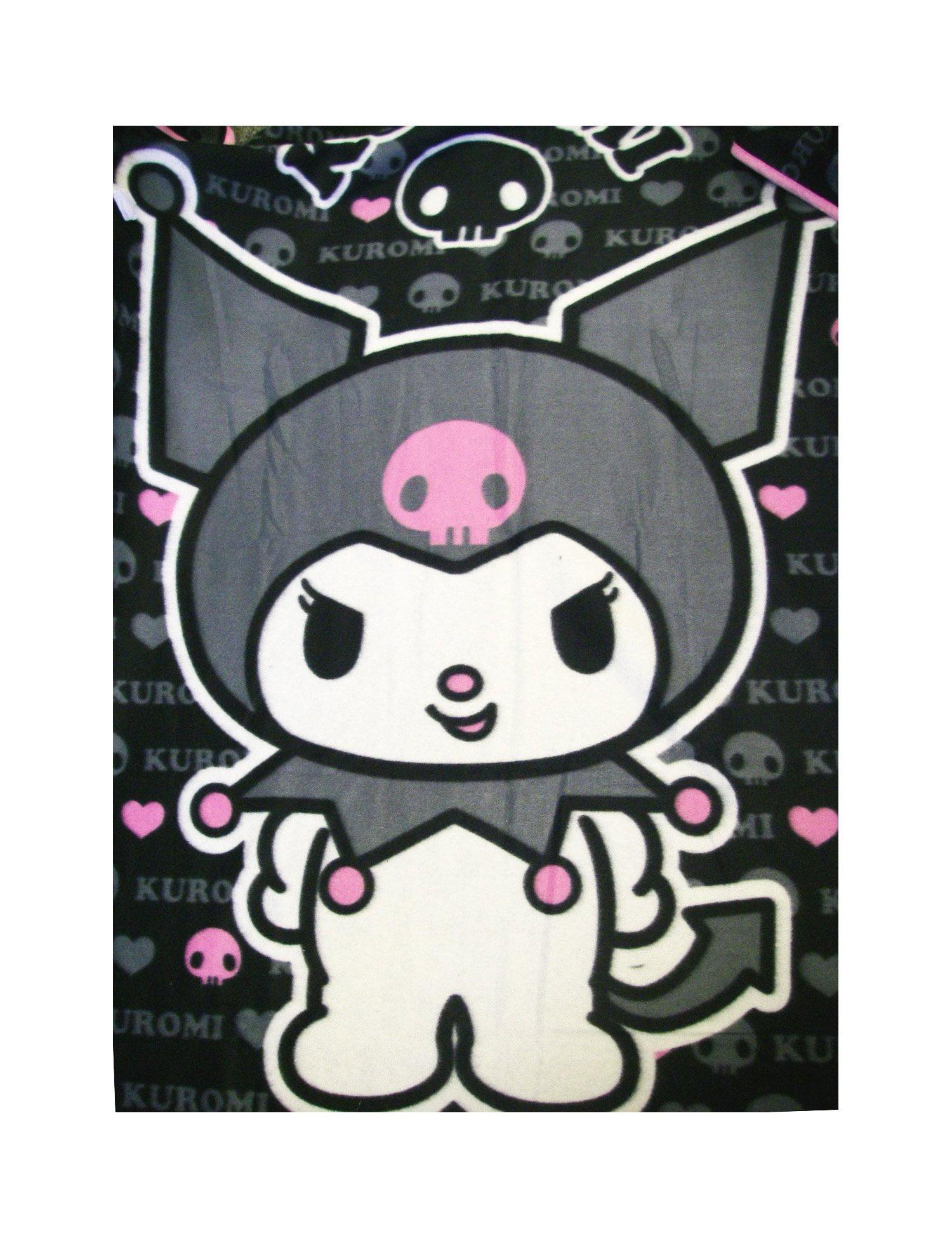 Blanket Sanrio Kuromi Devil Goth Skull Fleece Throw New Gifts Toys 65839 Walmart Com Walmart Com