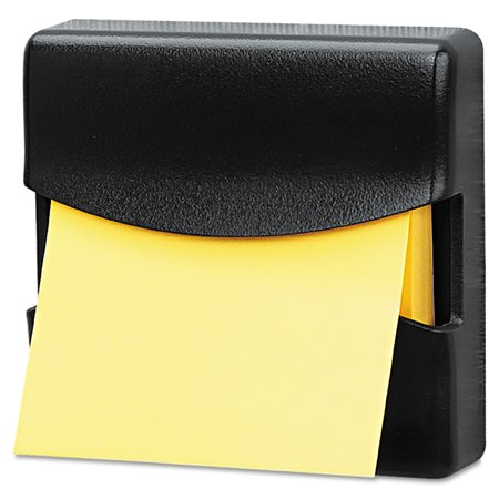 Fellowes Partition Additions Pop-Up Note Dispenser for 3 x 3 Pads, Dark Graphite Desktop Notepad Holder