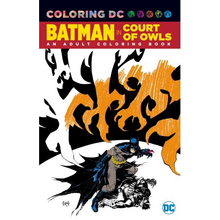 Batman in The Court of Owls: An Adult Coloring