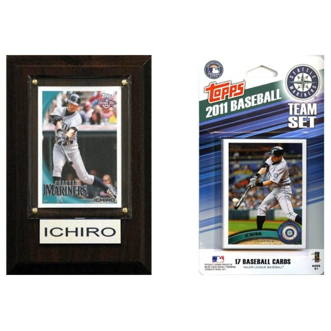 C & I Collectables 11MARINERSFP MLB Seattle Mariners Fan Pack