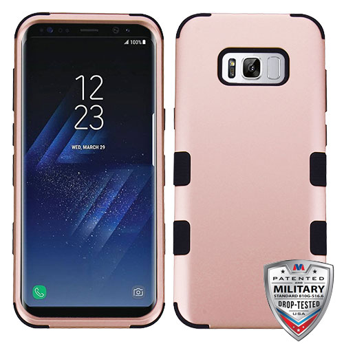 For Samsung Galaxy S8 TUFF Shockproof Impact Hybrid Phone Protector Case Cover