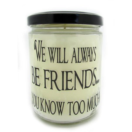 Friends Candle (Star Hollow Candle Company ''We Will Always be Friends...'' Orange Clove Jar)