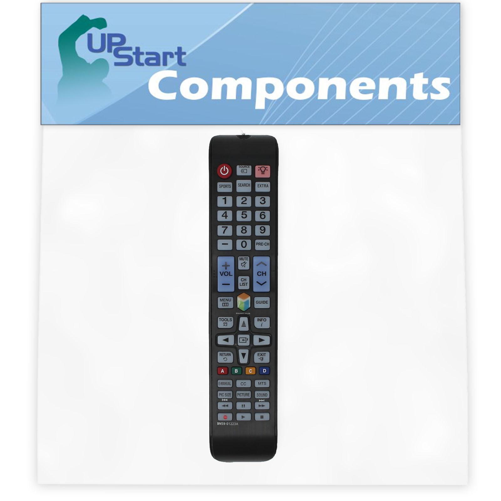 2 Pack Replacement Samsung BN59-01223A TV Remote Control for Samsung UN75JU650D Television - image 3 de 4