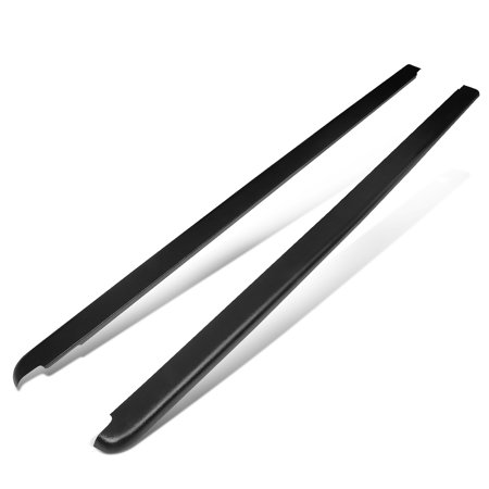 For 2002 to 2009 Ram Truck 1500 / 2500 / 3500 6.5Ft Fleetside Short Bed Side Rail Molding Caps (Pair) 08 07 06 05 04 03