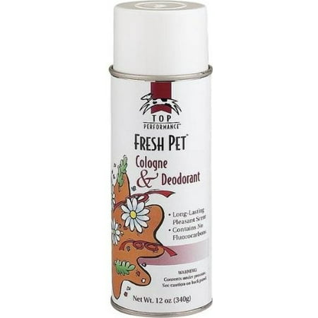 Top Performance Cologne & Deodorant Fresh Pet 12 Oz