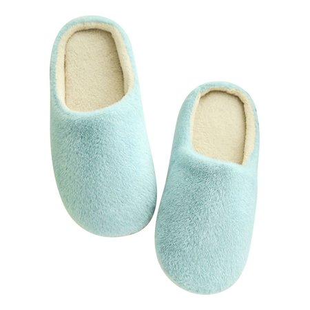 Oumy Men Women Soft Warm Indoor Slippers Indoor Sandal House