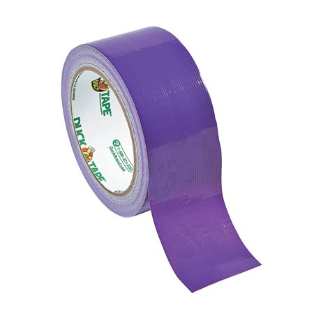 Fun Express - Purple Duck Tape - Basic Supplies - Adhesive - Tape - 1 Piece Carbon Express Type