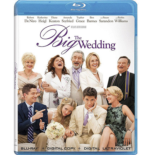 The Big Wedding (Blu-ray + Digital UltraViolet) (With INSTAWATCH) (Widescreen)