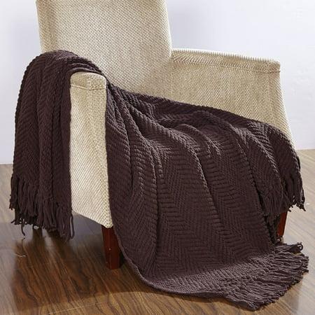 BOON Throw & Blanket Knitted Tweed Throw Blanket Dwell Studio Knit Blanket
