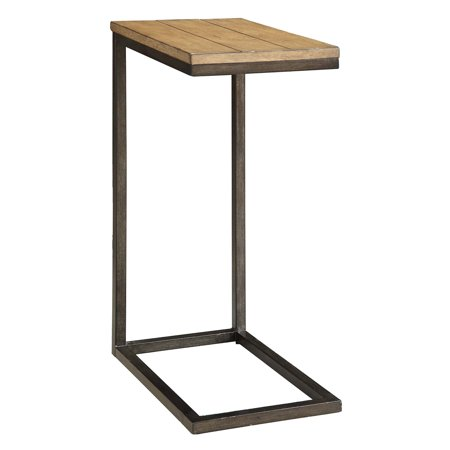 Carolina Chair and Table Anson Oak Topped Side Table ()