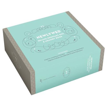 Newlywed Deluxe Keepsake Box & Memory (Keepsake Memory Book)