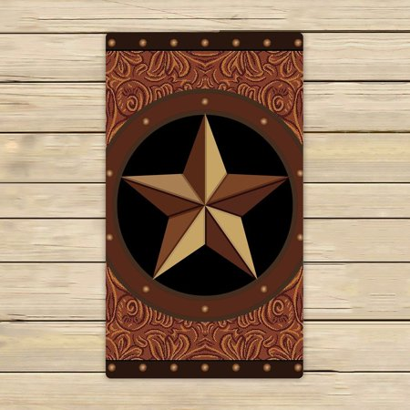GCKG Texas Star Towels,Texas Star Beach Bath Towels Bathroom Body Shower Towel Bath Wrap For Home,Outdoor and Travel Use Size 30x56 inches - image 3 of 3