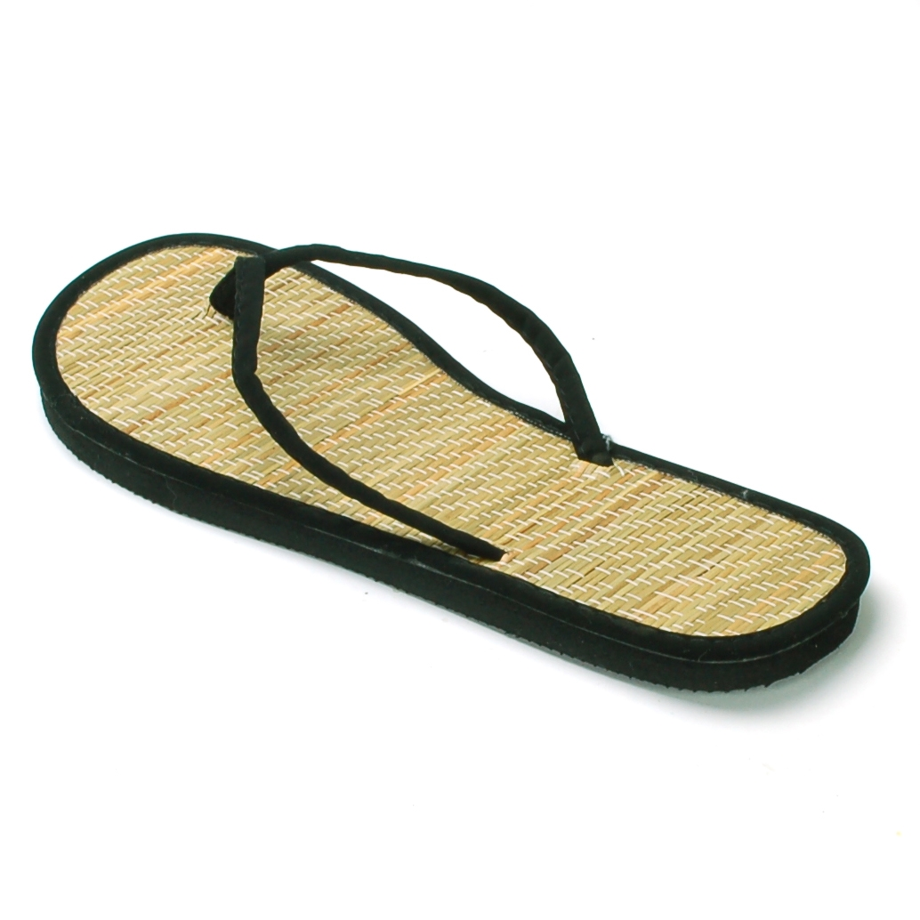 2ba6eb285 L.A. Beauty - Womens Bamboo Sandal Flip Flops Light Flats Beach Summer Shoe  Comfort Thongs New - Walmart.com