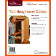Fine Woodworking's Corner Cabinet Plan