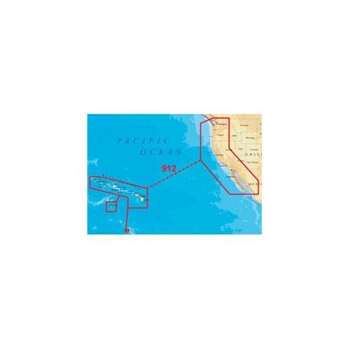 Navionics Platinum Plus 912PP - US West Coast - Hawaii - ...
