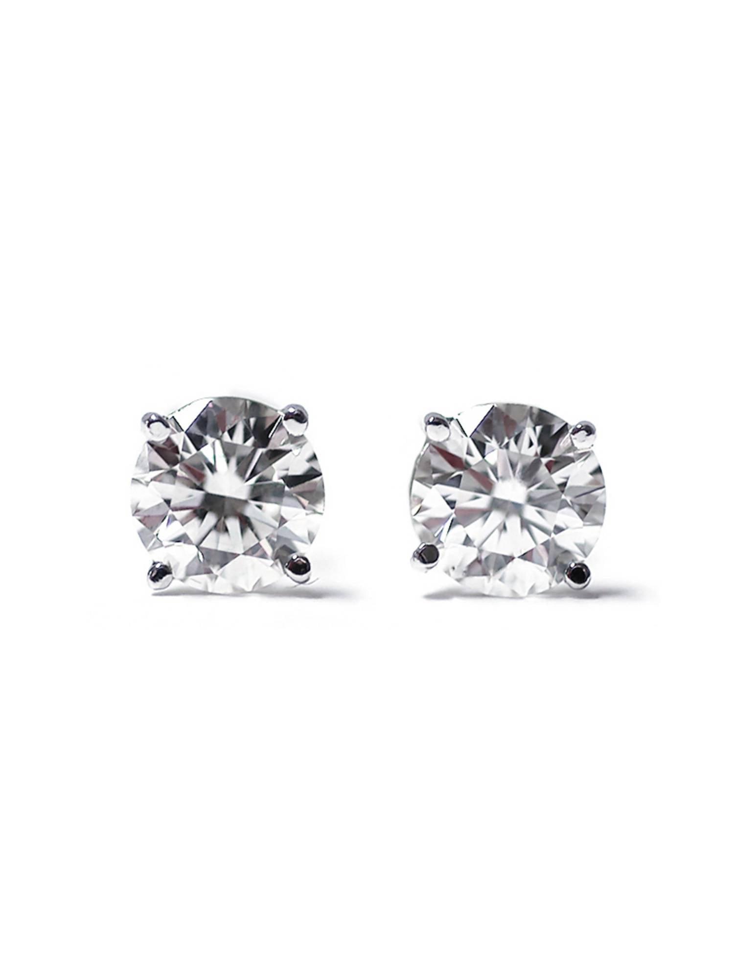 ece512d6970cf IGI Certified 1/3 cttw (K-L I1-I2) 14K White Gold Diamond Stud Earrings