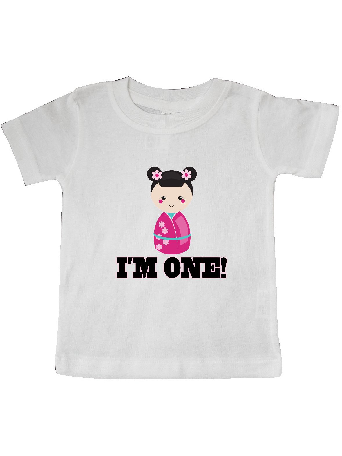 inktastic First Birthday 1 Year Old Dolphin Baby T-Shirt