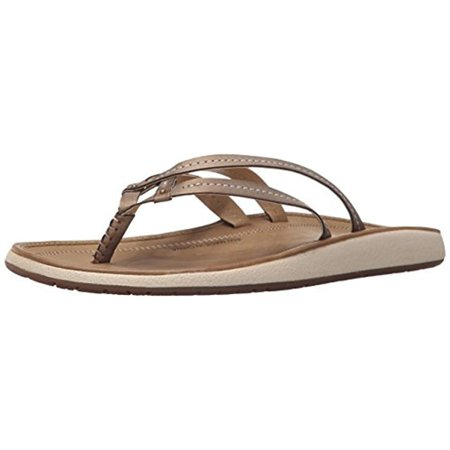 Womens Metallic Leather - JSport by Jambu Womens Baltimore Vegan Leather Metallic Flip-Flops