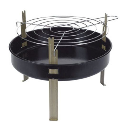 Kay Home Products 5 Tabletop BBQ Grill, Round, 12-In.
