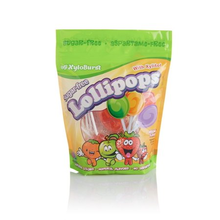 Mix Lollipop (Lollipop Mixed Flavors XyloBurst 25 ct Bag )