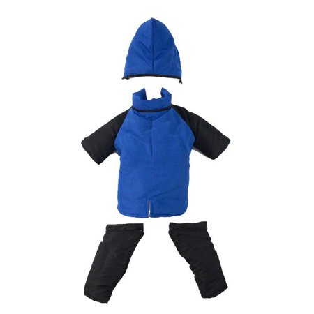 Casual Canine Snowsuit Xs Blu (Cozy Casual Canine Snowsuit)