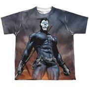 Shadowman Stand Tall (Front Back Print) Big Boys Sublimation Shirt