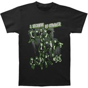 5 Seconds Of Summer Men's  Triple Jump Slim Fit T-shirt Black