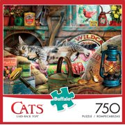 Buffalo Games - Cats Series - Laid-Back Tom - 750 Piece Jigsaw Puzzle