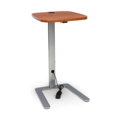 3 Piece Cherry Accent Table - OFM Model ACCTAB Accent Table with USB Grommet, Cherry