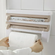 Wall Mount Paper Towel Holder With Spice Rack Towel Rack With Shelf