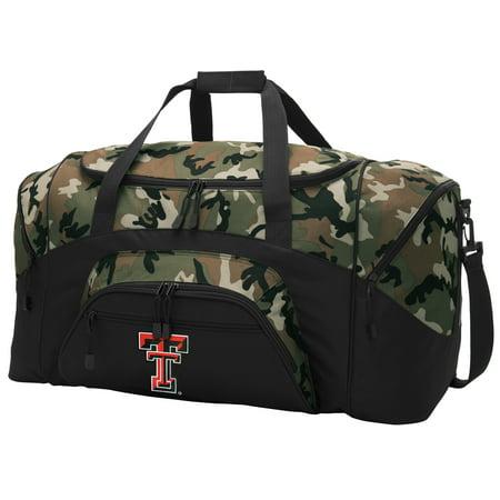 dd7f998b5155 Texas Tech CAMO Duffel Bag Texas Tech GYM BAG - Walmart.com