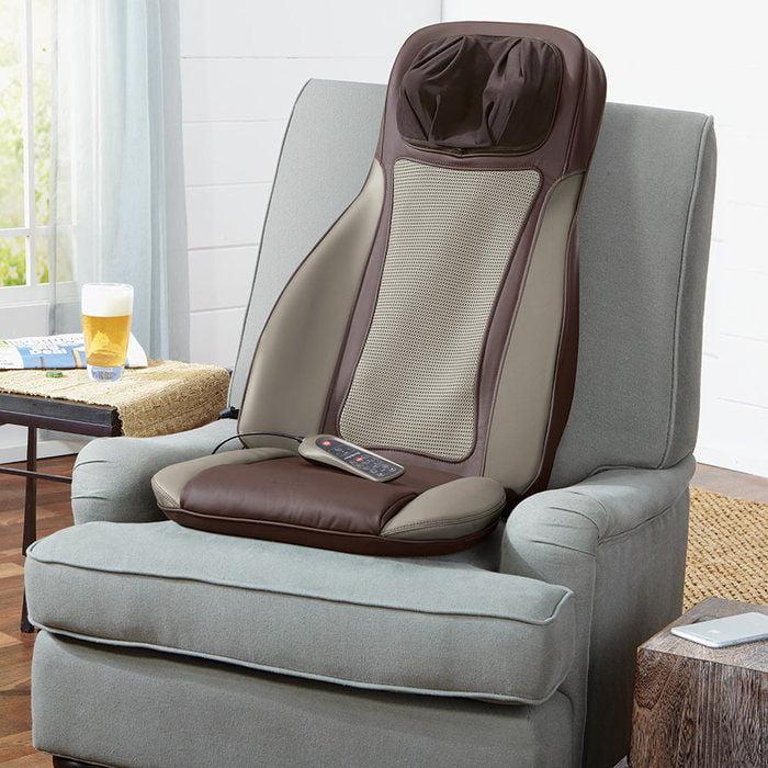 Brookstone S6 Shiatsu Massaging Seat Topper