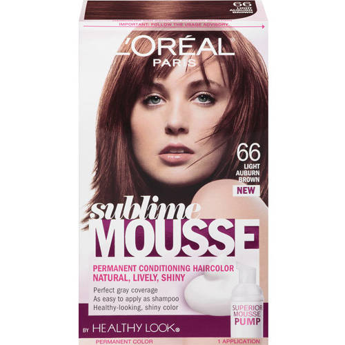 L Oreal Paris Sublime Mousse Hair Color Walmart Com